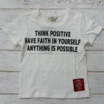 【PARK】パーク アメカジ THING POSITIVE 半袖Tシャツ オフシロ (PA19-202-OW)