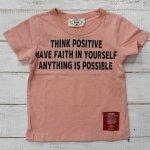 【PARK】パーク アメカジ THING POSITIVE 半袖Tシャツ ピンク (PA19-202-PK)