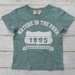 【PARK】パーク アメカジ 1895 半袖Tシャツ ミント (PA19-203-MT)
