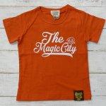 【EAST BLUE】イーストブルー アメカジ マジック 半袖Tシャツ オレンジ (E33220-OR)