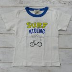 【EAST BLUE】イーストブルー アメカジ SURF BEAR 半袖Tシャツ オフシロ (E33254-OW)