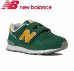 【newbalance】ニューバランス NB ベビー キッズ ジュニア スニーカー (PO313GR)