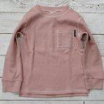 【F.O.KIDS】エフオーキッズ アメカジ サーマル 長袖Tシャツ ピンク (R106110-PK)