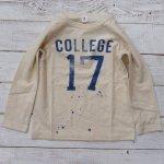 【Jeans-b 2nd】ジーンズベーセカンド アメカジ 17 長袖Tシャツ オフベージュ (800204-OB)