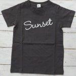【Jeans-b 2nd】ジーンズベーセカンド アメカジ sunset 半袖Tシャツ チャコール (800134-CG)