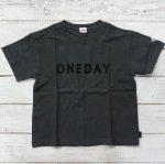 【Jeans-b 2nd】ジーンズベーセカンド アメカジ oneday ビック半袖Tシャツ チャコール (810101-CG)