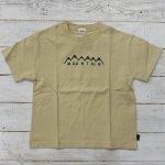 【Jeans-b 2nd】ジーンズベーセカンド アメカジ mountain ビック半袖Tシャツ ベージュ (810106-BE)