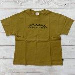 【Jeans-b 2nd】ジーンズベーセカンド アメカジ mountain ビック半袖Tシャツ ブラウン (810106-BR)
