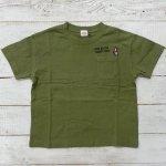 【Jeans-b 2nd】ジーンズベーセカンド アメカジ 刺繍 ビック半袖Tシャツ オリーブ (810136-OL)
