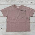 【Jeans-b 2nd】ジーンズベーセカンド アメカジ 刺繍 ビック半袖Tシャツ ピンク (810136-PK)