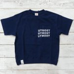 【Jeans-b 2nd】ジーンズベーセカンド アメカジ UTMOST ビック半袖Tシャツ ネイビー (810137-NV)