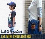 【Lee】リー アメカジ雑貨 アメカジバッグ MINI SHOULDER BAG ミニショルダーバック(101011-1)