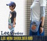 【Lee】リー アメカジ雑貨 アメカジバッグ MINI SHOULDER BAG ミニショルダーバック(101011-2)