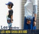 【Lee】リー アメカジ雑貨 アメカジバッグ MINI SHOULDER BAG ミニショルダーバック(101011-3)