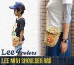 【Lee】リー アメカジ雑貨 アメカジバッグ MINI SHOULDER BAG ミニショルダーバック(101011-4)