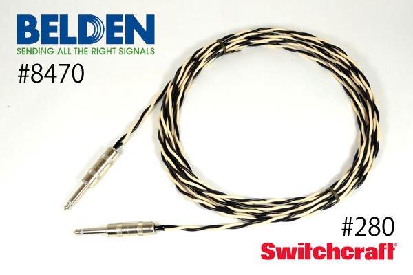 スピーカーケーブル BELDEN ベルデン 8470 Switchcraft#280 フォン⇔フォン