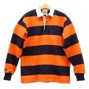 BARBARIAN 4 INCH STRIPE ラグビーシャツ