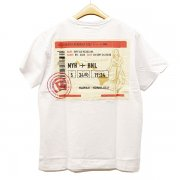 Real B voice Air Ticket Pocket Tee 10929