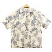 Hilo Hattie Aloha shirt Pineapple Dream