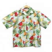 Hilo Hattie Aloha shirt Floating Pineapples