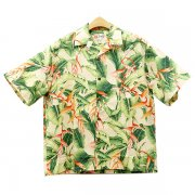 Hilo Hattie Aloha shirt Flamingo Paradise