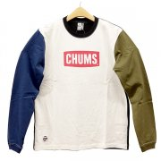 CHUMS Logo L/S Tee