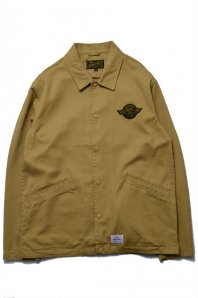 <font size=5>BENNY GOLD</font><br>ROUTE 16 TWILL COACH JACKET<br>DUST<img class='new_mark_img2' src='//img.shop-pro.jp/img/new/icons5.gif' style='border:none;display:inline;margin:0px;padding:0px;width:auto;' />