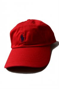 <font size=5>RALPH LAUREN</font><br>CLASSIC SPORTS CAP<br>RED