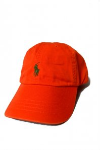 <font size=5>RALPH LAUREN</font><br>CLASSIC SPORTS CAP<br>ORANGE<img class='new_mark_img2' src='http://www.factory079.jp/img/new/icons5.gif' style='border:none;display:inline;margin:0px;padding:0px;width:auto;' />