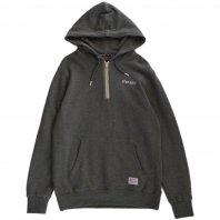 <font size=5>BENNY GOLD</font><br>Goal Post Grey Quarter Zip Hoodie<br>Gray<br>