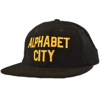<font size=5>ACAPULCO GOLD</font><br>ALPHABET CITY CAP<br>Black<br>