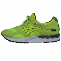 <font size=5>asics×UBIQ</font><br>GEL LYTE V Hazard GORE-TEX<br>Neon Yellow<br>