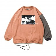 <font size=5>TBPR×KILLER BONG</font><br>CYBORG CREW SWEAT<br>SALMON<br>
