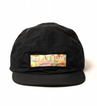 <font size=5>APPLEBUM</font><br>BOXLOGO PRISM CAMP CAP<br>BLACK<br>