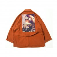 <font size=5>TBPR</font><br>FORTRESS WOOL JKT<br>ORANGE<br>