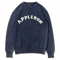 <font size=5>APPLEBUM</font><br>Arch Logo Crew Sweater<br>Indigo<br><img class='new_mark_img2' src='https://img.shop-pro.jp/img/new/icons1.gif' style='border:none;display:inline;margin:0px;padding:0px;width:auto;' />