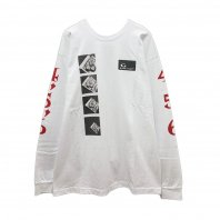 <font size=5>ACAPULCO GOLD</font><br>HEADCRACK LS TEE<br>WHITE<br><img class='new_mark_img2' src='https://img.shop-pro.jp/img/new/icons1.gif' style='border:none;display:inline;margin:0px;padding:0px;width:auto;' />