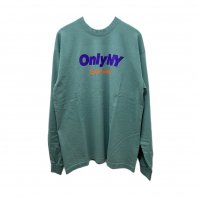 <font size=5>ONLY NY</font><br>sportswear logo L/S T-shirt<br>Atlantic green<br><img class='new_mark_img2' src='https://img.shop-pro.jp/img/new/icons1.gif' style='border:none;display:inline;margin:0px;padding:0px;width:auto;' />