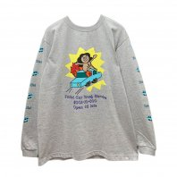 <font size=5>RUTSUBO 坩堝</font><br>CAR WASH L/S T-Shirts (RUTSUBO×aimi odawara)<br>2color<br>