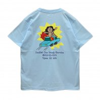 <font size=5>RUTSUBO 坩堝</font><br>CAR WASH T-Shirts (RUTSUBO×aimi odawara)<br>2color<br>