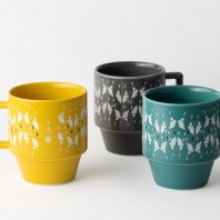 <font size=5>RUTSUBO 坩堝</font><br>Catherine Big Mug (RUTSUBO×HASAMI×MHAK)<br>3color<br>