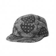 <font size=5>RUTSUBO 坩堝</font><br>PAISLEY 5PANEL CAP<br>Black<br>