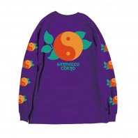 <font size=5>SAYHELLO</font><br>Yin And Yang Long Sleeve TEE<br>Purple<br>