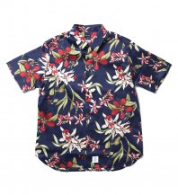 <font size=5>APPLEBUM</font><br>Island Flower S/S Shirts<br>NAVY<br><img class='new_mark_img2' src='https://img.shop-pro.jp/img/new/icons1.gif' style='border:none;display:inline;margin:0px;padding:0px;width:auto;' />