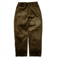 <font size=5>SAYHELLO</font><br>WORK CORDUROY PANTS WIDE-FIT<br>Brown<br>