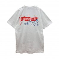 <font size=5>GOODWORTH</font><br>LOGO TEE<br>WHITE<br><img class='new_mark_img2' src='https://img.shop-pro.jp/img/new/icons1.gif' style='border:none;display:inline;margin:0px;padding:0px;width:auto;' />
