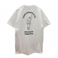 <font size=5>GOODWORTH</font><br>SMOKING PARROT TEE<br>WHITE<br>
