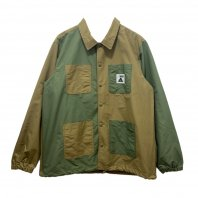 <font size=5>POLER</font><br>SUMMIT COVERALL COACH JAKET<br>Beige Multi<br>