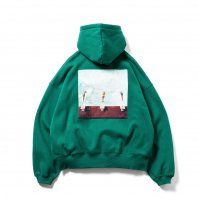 <font size=5>TBPR</font><br>Dive To Blue Hoodie<br>Green<br>