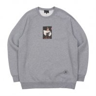 <font size=5>ACAPULCO GOLD</font><br>RAGLAN SLEEVE CREW SWEAT<br>Heather Grey<br><img class='new_mark_img2' src='https://img.shop-pro.jp/img/new/icons1.gif' style='border:none;display:inline;margin:0px;padding:0px;width:auto;' />